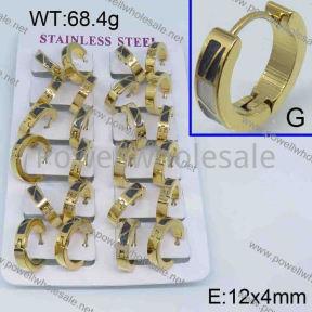 SS Earrings  3331538aklm-450