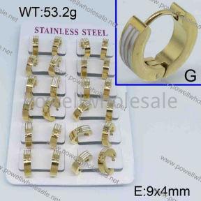 SS Earrings  3331540aklm-450