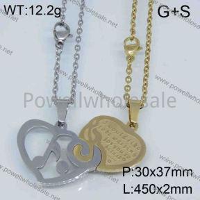 SS Necklace  3523571bhva-306