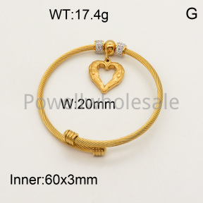 SS Bracelet  3B4001280ahjb-377