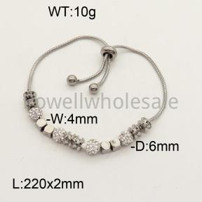 SS Bracelet  3B4001303bhva-613