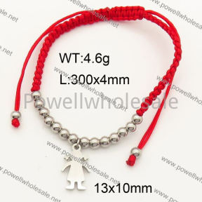 SS Bracelet  3B80093vbpb-317