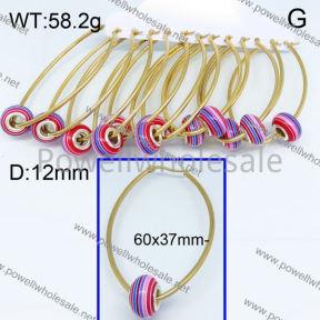 SS Earrings  3E30130bika-212