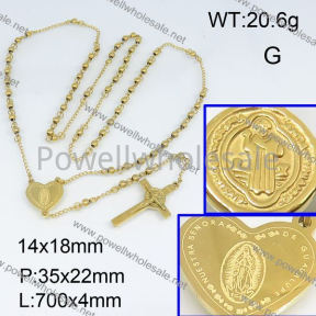 SS Necklace  3N20190bhil-692