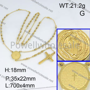 SS Necklace  3N20193bhil-692