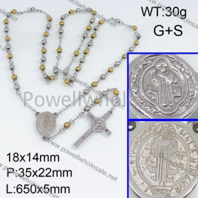 SS Necklace  3N20203bhjl-692