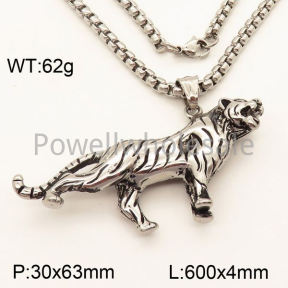 SS Necklace  3N20440vbpb-452