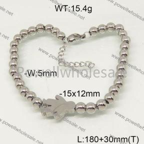 SS Bracelet  6B20934vbpb-377