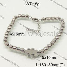 SS Bracelet  6B20936vbpb-377