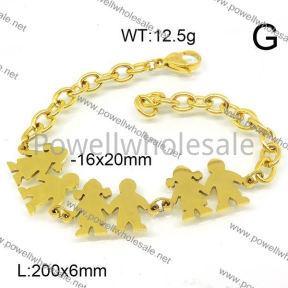 SS Bracelet  6B21000vbpb-418