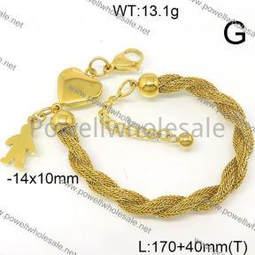 SS Bracelet  6B21006vbpb-418