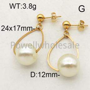 SS Earrings  6E3001219vajj-450