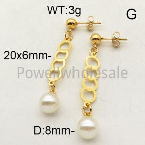 SS Earrings  6E3001221baka-450