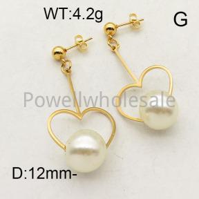 SS Earrings  6E3001222vajj-450