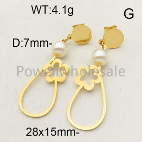 SS Earrings  6E3001223vajj-450