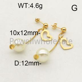 SS Earrings  6E3001225baka-450