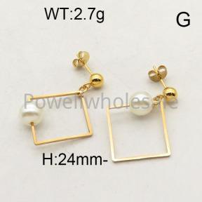 SS Earrings  6E3001227baka-450
