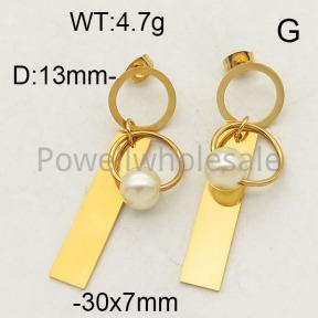 SS Earrings  6E3001228baka-450
