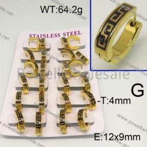 SS Earrings  6E30131alka-450