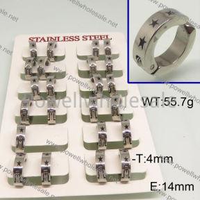 SS Earrings  6E30147ajvb-658
