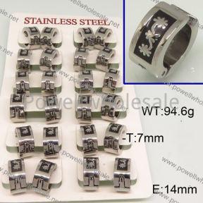 SS Earrings  6E30158ajvb-658