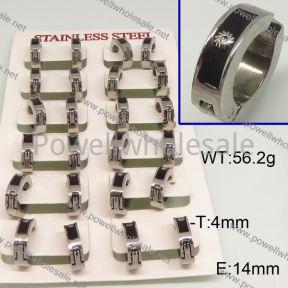 SS Earrings  6E30161ajvb-658