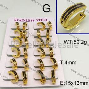 SS Earrings  6E30200akoa-450