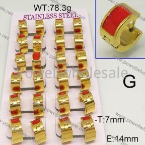 SS Earrings  6E30467aima-689