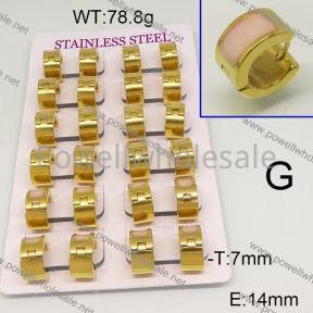 SS Earrings  6E30469aima-689