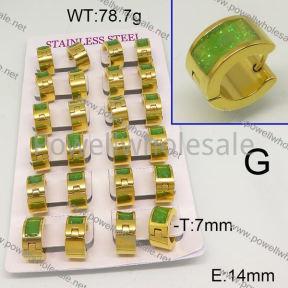 SS Earrings  6E30473aima-689