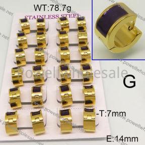 SS Earrings  6E30474aima-689