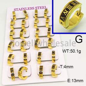SS Earrings  6E30747ajma-689