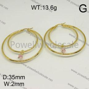 SS Earrings  6E40115ablb-212