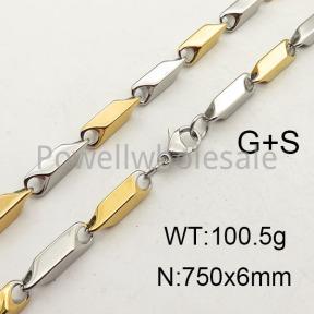 SS Necklace  6N2001332vhkb-452