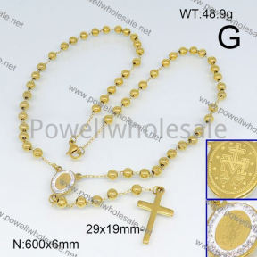 SS Necklace  6N20653vhll-692