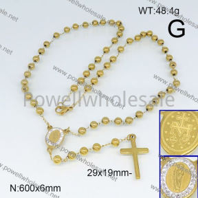 SS Necklace  6N20654vhll-692