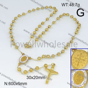 SS Necklace  6N20655vhll-692