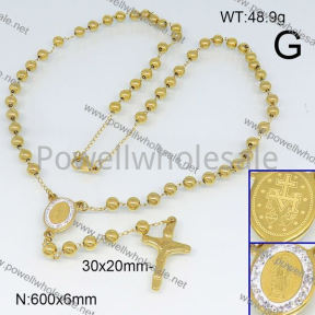 SS Necklace  6N20657vhll-692