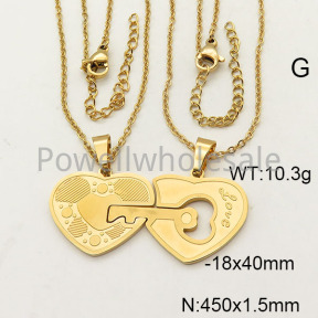 SS Necklace  6N21157vbnb-704