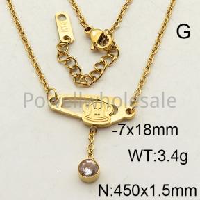 SS Necklace  6N4001571bbov-473