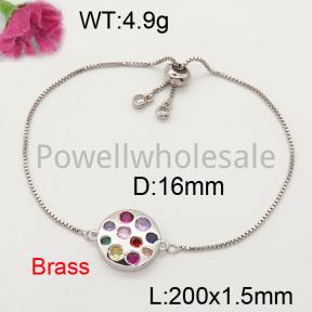 Fashion Brass Bracelet  F3B402314vbll-L017