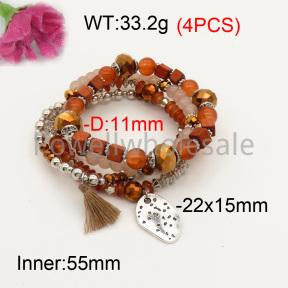 Fashion Bracelet  F3B402605bbov-K102