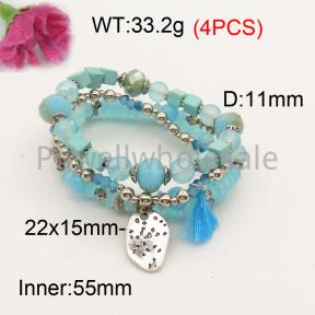 Fashion Bracelet  F3B402606bbov-K102