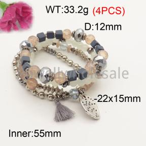 Fashion Bracelet  F3B402607bbov-K102