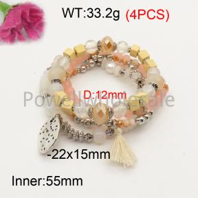 Fashion Bracelet  F3B402608bbov-K102