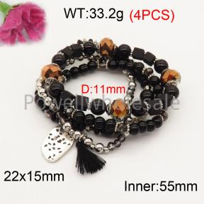 Fashion Bracelet  F3B402609bbov-K102