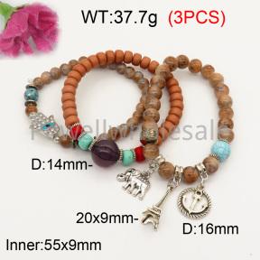 Fashion Bracelet  F3B402614bbov-K102