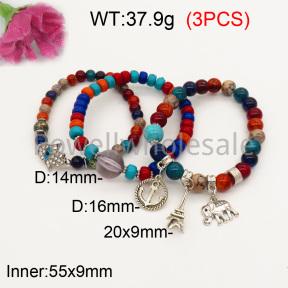 Fashion Bracelet  F3B402616bbov-K102