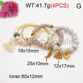 Fashion Bracelet  F3B402618bbov-K102