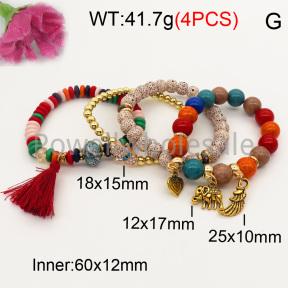 Fashion Bracelet  F3B402620bbov-K102